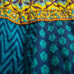 Dresses - Printed Indian Tunic Dress